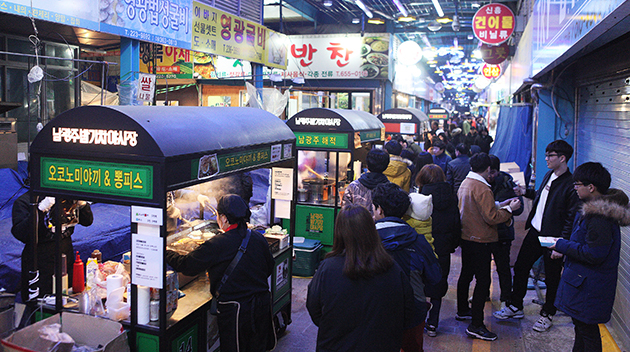 Namgwangju Night Train Night Market  이미지